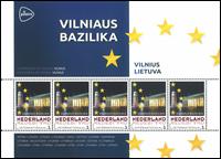 Holland - Europas hovedstæder Litauen Vilnius - Postfrisk miniark