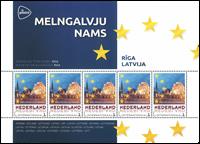 Holland - Europas hovedstæder Letland Riga - Postfrisk miniark
