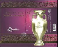 Ukraine - UEFA 2012 Henri Delaunay Cup - Postfrisk miniark. Michel værdi 150,-EUR. Oplag 30.000