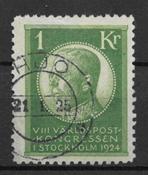 Sverige 1924 - AFA 171- stemplet