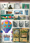 Germania - francobolli a peso senza carta - 100 g
