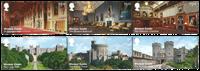 Gran Bretagna 2017 - Castello di Windsor - serie 6 val. nuovi