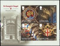 Great Britain - Windsor Castle - Mint souvenir sheet