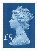 Great Britain - 65 years of the Queen's Coronation - Mint stamp