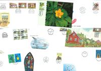 Åland - 17 officielle FDC/maxikort