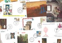 Vatican - 14 envelopes - The Pope's journeys