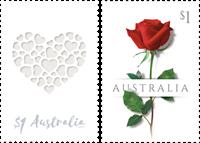 Australia - Wedding stamps - Mint set 2v