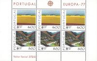 PORTUGALI - Eurooppa CEPT 1977 pienoisarkki - Postituore