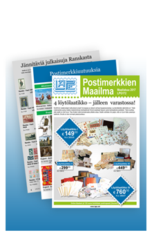 Postimerkkien Maailma - LPG172