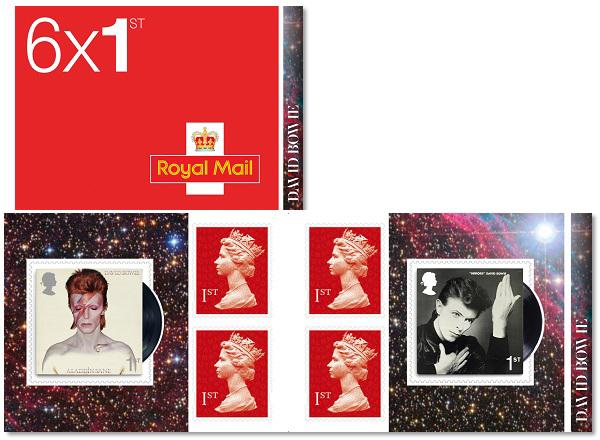 England - David Bowie - Postfrisk hæfte