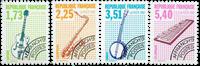 France - YT 224-27 - precancelled