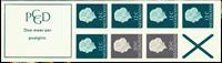 Netherlands - Stamp booklet 7B