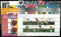 Nederland - Zomerzegels (ouderenzegels) 1995-2001 blokken postfris, complee