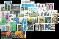 Nederland - Zomerzegels 1980-1992 postfris, compleet