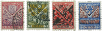 Netherlands 1927 - NVPH R78-R81 - Cancelled