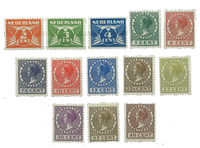 Netherlands 1926-1927 - NVPH R19-R31 - Mint