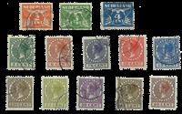 Netherlands 1926-1927 - NVPH R19-R31 - Cancelled