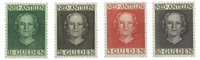 Netherlands 1950 - NVPH 230-233 - Mint