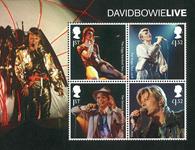 England - David Bowie - Postfrisk miniark