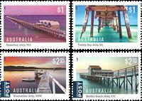 Australia - Jetties - Mint set 4v