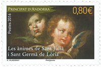 France - Les Animes st Julia - Mint stamp