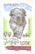 France - Dogs, Gos D'Atura - Mint stamp