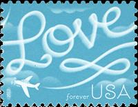 USA - Love 2017 - Postfrisk frimærke
