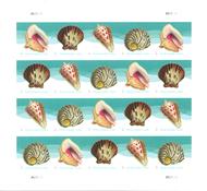 USA - Muslingeskaller - Ark postfrisk