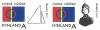 Norge - Samer parlamentet - Postfrisk sæt 2v