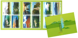 Hong Kong - Vandreruter Lantau Trail - Postfrisk hæfte
