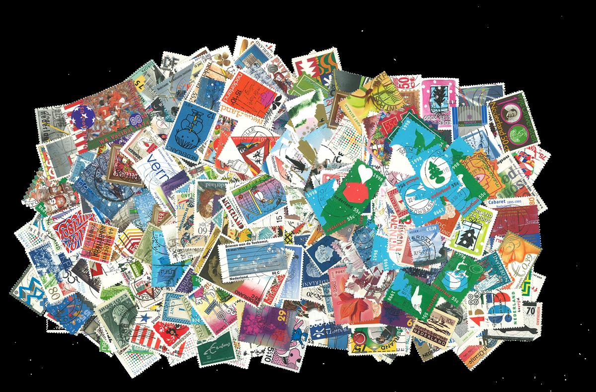 Holland - 1000 forskellige frimærker