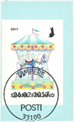 Finland - Carousel - Cancelled stamp