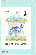 Finland - Carousel - Mint stamp