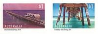 Australia - Jetties - Mint stamp self adh.