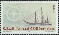 Greenland - 1994. Europa - 4,00 kr - Multicoloured