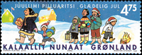 Grønland - 2002. Julefrimærker - 4,75 kr. - Flerfarvet