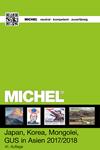 Michel frimærkekat.Japan 2017