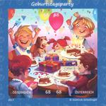 Østrig - Børnefødselsdag - Postfrisk miniark