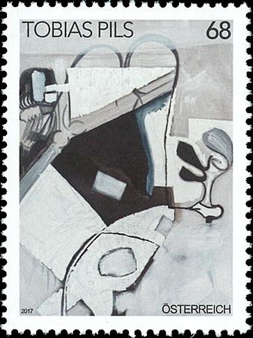 Østrig - Tobias Pils - Postfrisk frimærke