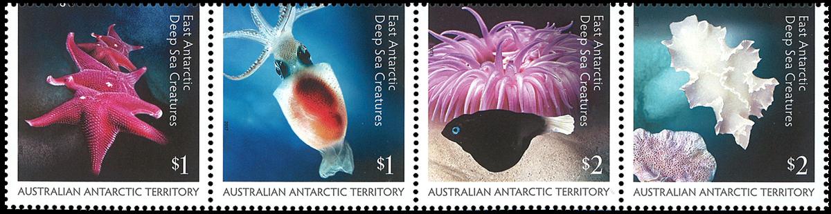 Australsk Antarktis - Marine - Postfrisk sæt 4v