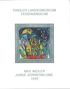 Østrig - Max Weiler - Postfrisk miniark