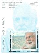 Austria - Carl Djerassi - Mint souvenir sheet