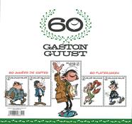 Belgium - Gaston - Mint souvenir sheet