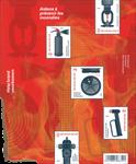 Belgien - Brandforebyggelse - Ark postfrisk