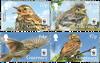 Guernsey - WWF Engpiper - Postfrisk sæt 4v