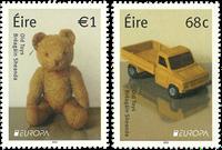 Irland - Europa Legetøj - Postfrisk sæt 2v