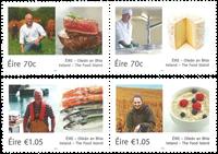 Irland - Legendariske fødevarer - Postfrisk sæt 4v