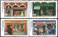 Irland - Butiksfacader - Postfrisk sæt 4v