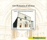 Italy - Roman art in Abruzzo - Mint souvenir sheet