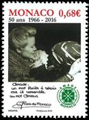 Monaco - Amade Monaco - Postfrisk frimærke
